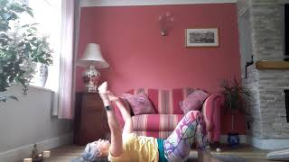 Yoga for beginners - simple movements to end a yoga practice (Video 3 of 3)