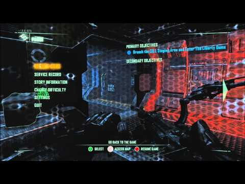 Crysis 3 - pause menu soundtrack