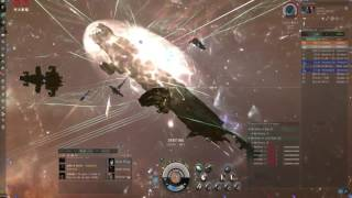 6-3-2016 EVE Online - Chimera Carrier caught & blapped by 65 locals in Provi Null