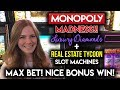 MONOPOLY MONDAY! Real Estate Tycoon My new Favorite Monopoly Slot Machine!
