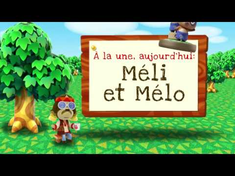 Animal Crossing  New Leaf   Welcome amiibo   Méli et Mélo