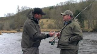 Eoin Fairgreive and Ian Gordon discuss the Hardy Zenith Double Handed rod