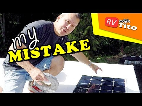 ONE YEAR After My DIY FLEXIBLE SOLAR PANEL Installation