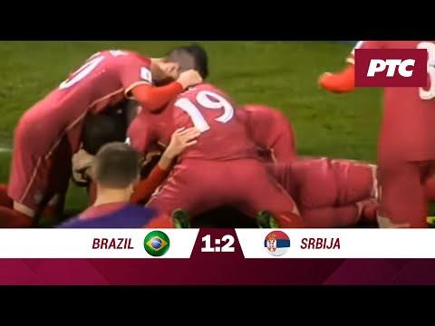 Finale Svetskog prvenstva U20: Brazil - Srbija 1:2