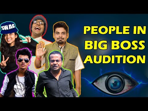 People at Bigg Boss Audition | The Half-Ticket Shows