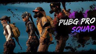 PUBG PRO SQUAD #1 - #SQUAD #FPP