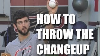Baseball Pitching Changeup Tips: How to throw a changeup with Tim Collins.