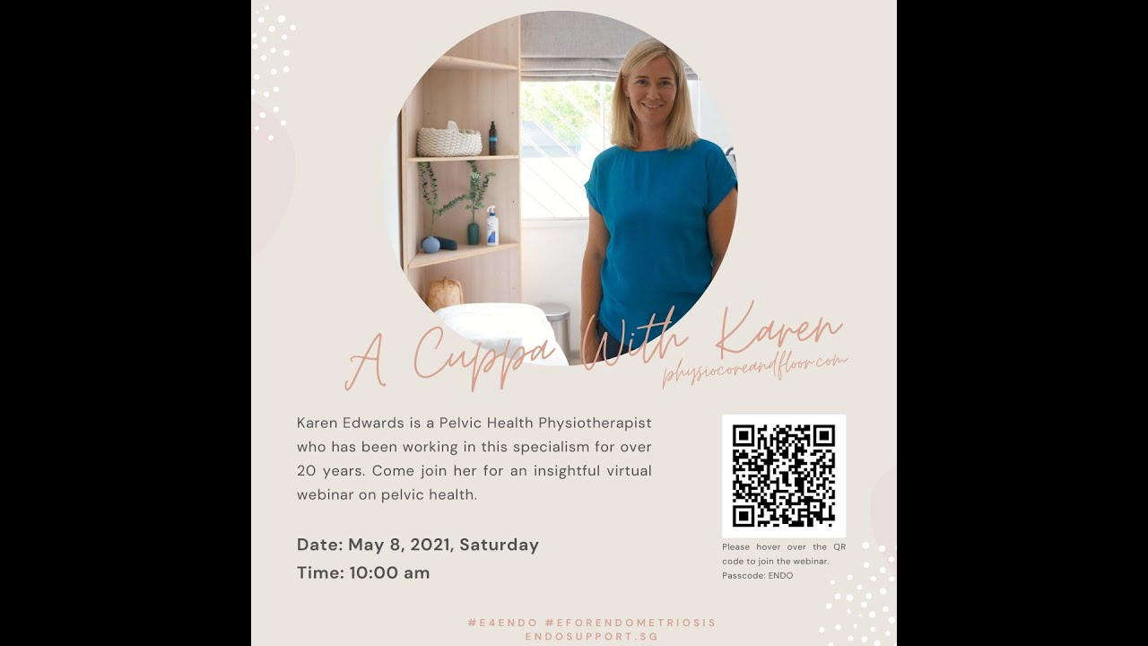 A Cuppa With Karen☕- A Pelvic Health Physiotherapist (Singapore)