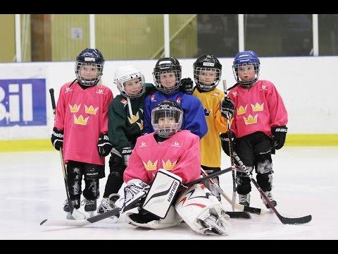Tre Kronors Hockeyskola - Börja spela Hockey!