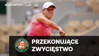 Świątek/Mattek-Sands - Jurak/Klepac | ćwierćfinał | Roland Garros