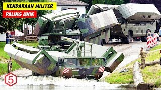 Keren, Kendaraan Militer ini Bisa Berubah Jadi Jembatan Penyebrangan