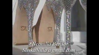 Свадебные бокалы со стразами Сваровски