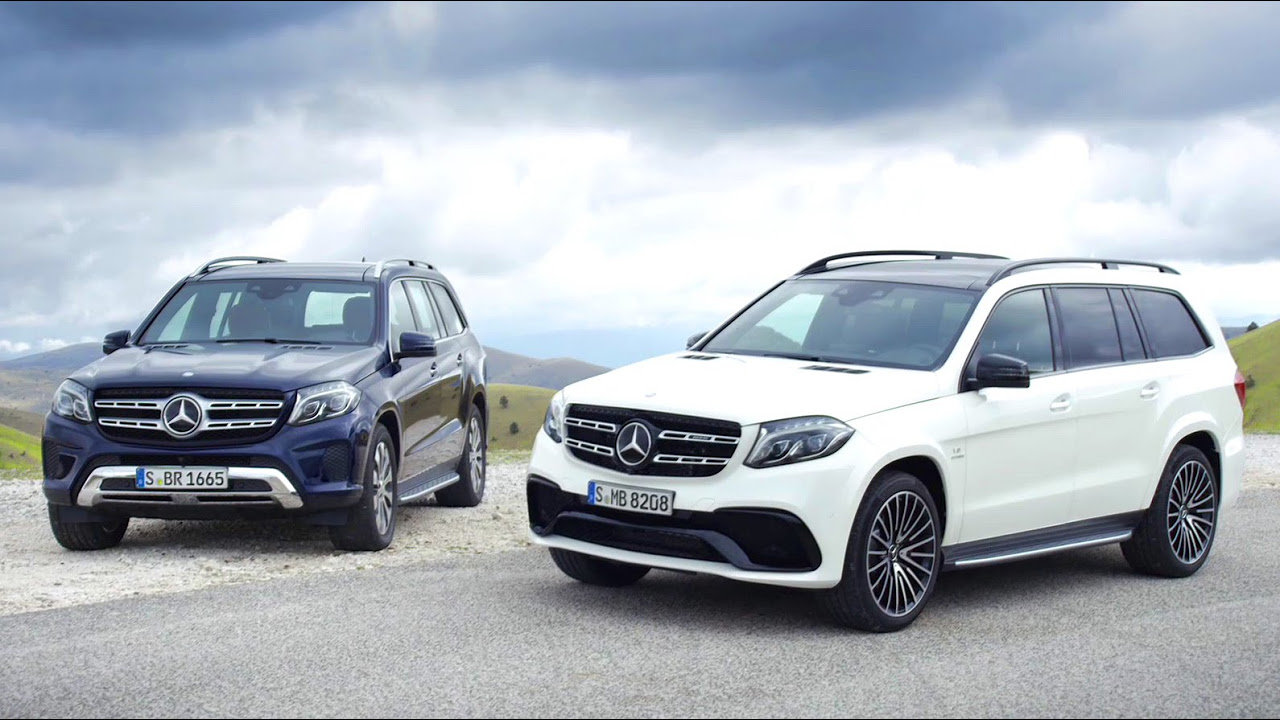The new MercedesBenz GLS the SClass among SUVs  MercedesBenz
