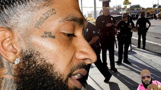 Alleged Audio Of LAPD Disrepecting Nipsey Hussle And His Family Released