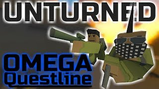 Unturned New Greece Quest Line! (Omega Quests)