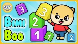 Учим цифры для детей - Состав числа от 1 до 10 - Учимся считать с щенком Бими Бу * мультик игра