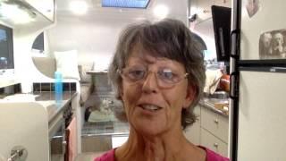 Jenn  J McLeod, #gypsywriter, shows you around her caravan