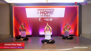 Group Fitness at Home :  Gentle Flow Yoga  9/6/2020
