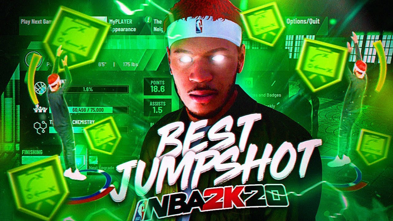 I FOUND THE BEST GREENLIGHT JUMPER IN NBA 2K20! BEST JUMPSHOT WITH NO  BADGES!