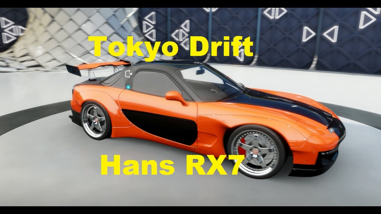 Forza Horizon 3 (FH3) Movie Start Cars - Hans RX7 - YouTube