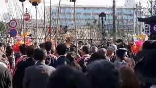 下総三山の七年祭り2015 時平神社の神輿.