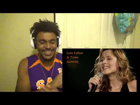 Lara Fabian Je T'aime Live Concert magyar fordítássa REACTION!!