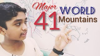 Mountains of the world: Amar makes it easy