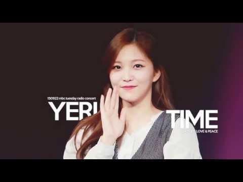 150922 MBC Tuesday concert - YERI TIME
