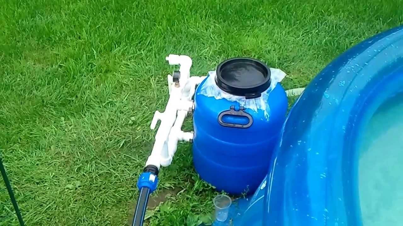 Фильтр для бассейна своими руками из пластиковых бутылок 31