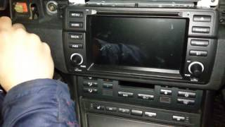 BMW E46 Android 2din GPS radio problem with standby