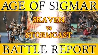Skaven vs Stormcast - Warhammer Age of Sigmar Battle Report - The Great Crusade, Ep 13
