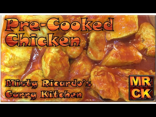 How to make Pre-Cooked Chicken (for BIR style curries)