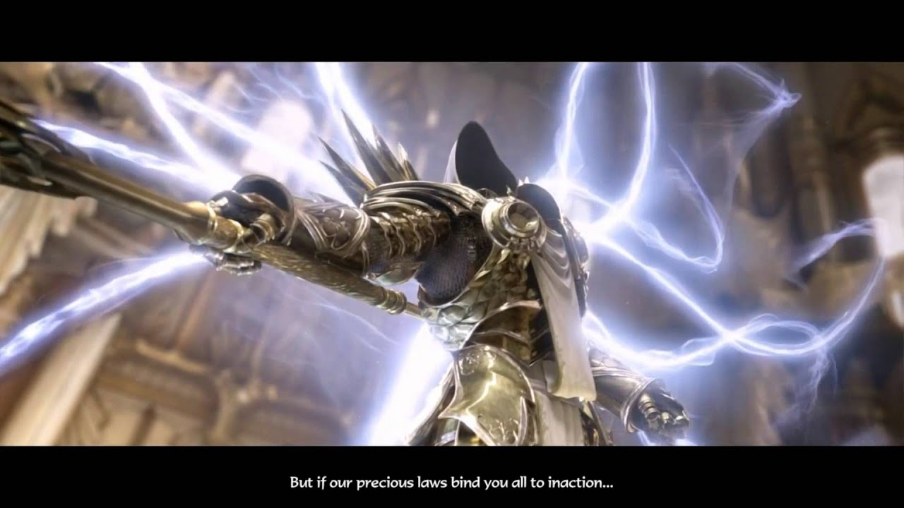 Anime Fighting Wallpaper Epic Angel Fight Diablo 3 Youtube