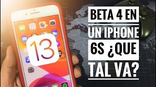 iOS 13 BETA 4 en un iPhone 6s/ ¡NOVEDADES!