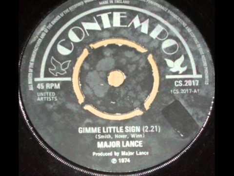 Major Lance - Gimme Little Sign