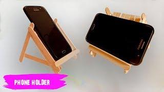 Wow!! ide kreatif membuat phone holder dari stik es krim