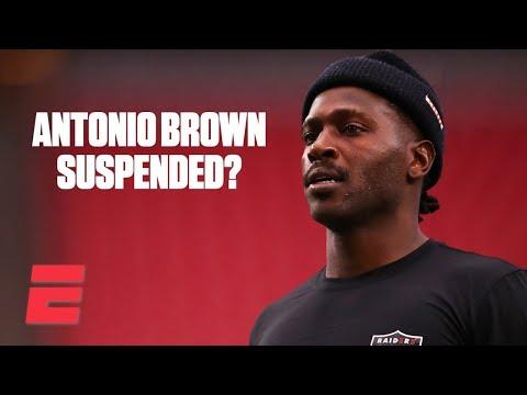 ESPN reacts to Raiders planning to suspend Antonio Brown   ESPN Voices