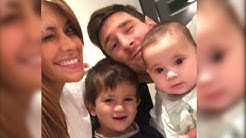 Messi Snapchat and instagram videos with family
