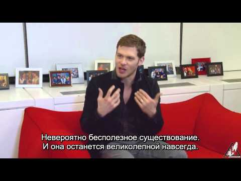 Joseph Morgan on The Originals Caroline, Esther, Elijah & More   TVLine Rus Sub