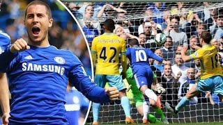 Chelsea 1 - 0 Crystal Palace 2015   Chelsea Win Title   PalaceFanTV