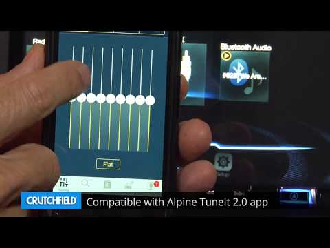 Alpine INE-W977HD Display and Controls Demo | Crutchfield Video