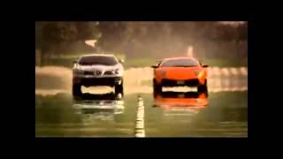 Lamborghini Murcielago SV vs Mercedes McLaren SLR 722 (Top Gear)