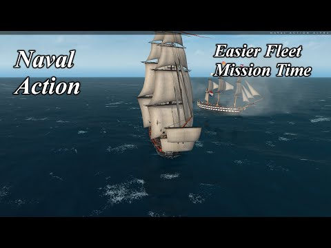 Naval Action Lets Try an Easier Fleet Mission This Time