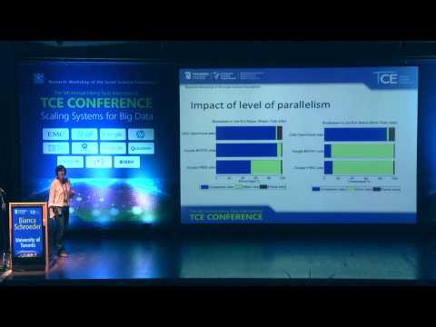 Bianca Schroeder - Programming paradigms for massively parallel computing: Massively inefficient?