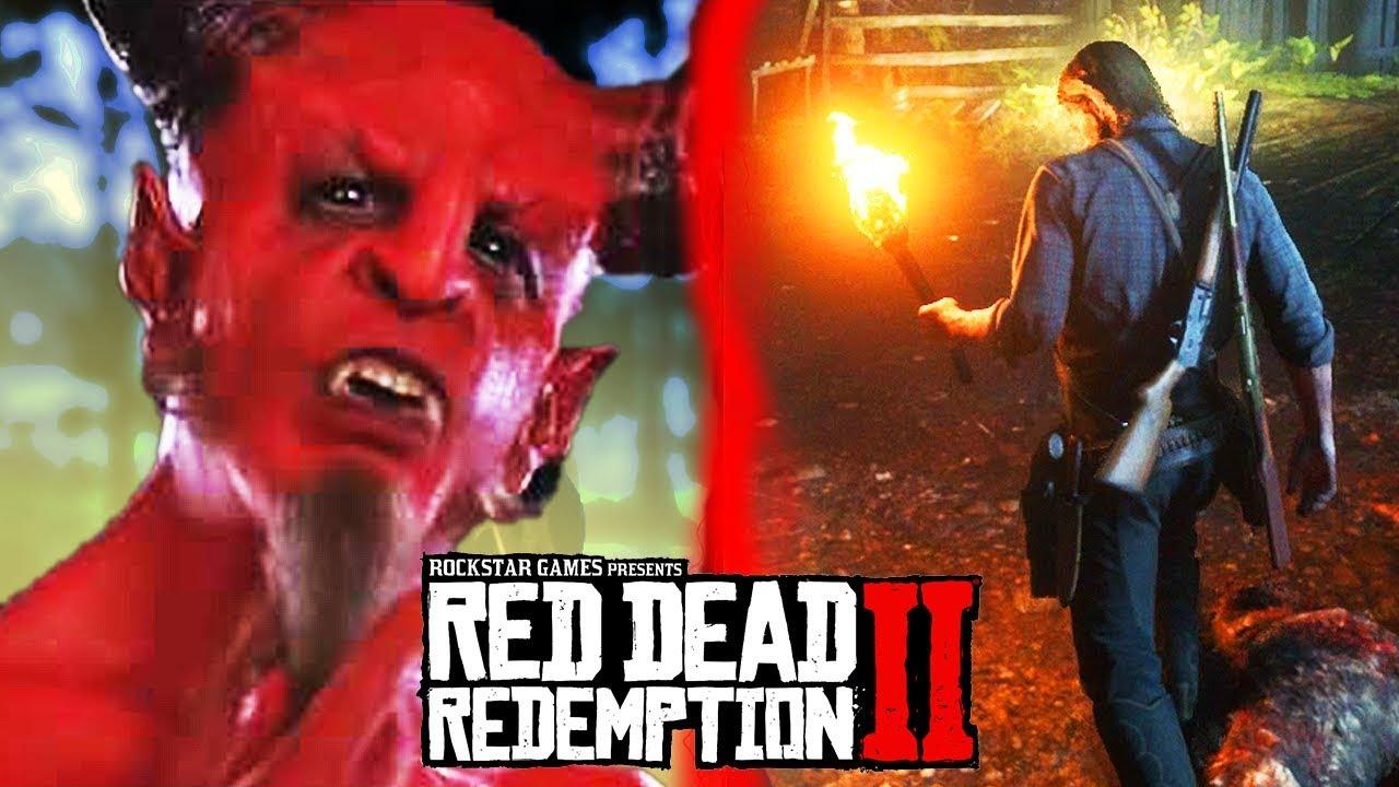 Secret Demon Village in Red Dead Redemption 2