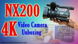 Sony nx200 official introduction video. sony' s new hxr-nx200 camcorder has been designed with the needs of professional videographers in mind. this makes th...