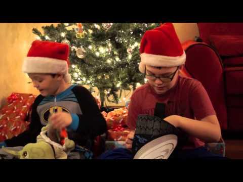Christmas Morning 2014 Video Keaton Blaze Batman Animated 1989 Ninja Turtles Pee Wee