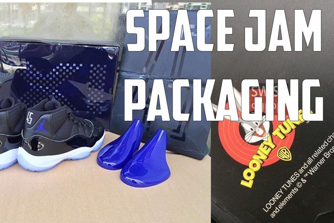 air jordan 11 space jam 2016 sneaker package