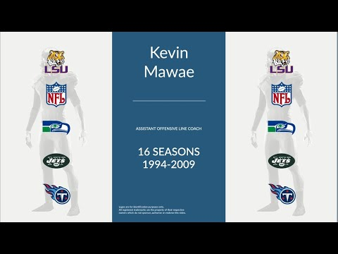 Kevin Mawae: Football Assistant Offensive Line Coach