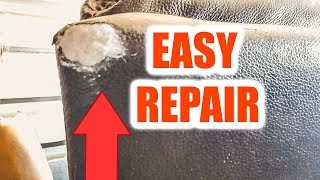 How To Repair Ripped Vinyl or Bonded Leather - Easy-